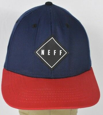NEW Neff Tradition Adjustable Snapback Baseball Cap  Hat