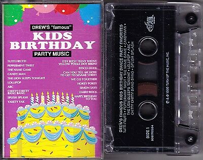 MC Drew´s famous Kids Birthday - Party Music - Turn up the Music