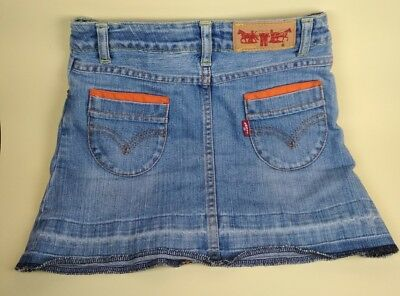Gonna jeans bambina Levis anni 6