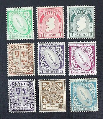CKStamps: Ireland Stamps Collection Scott#65/76 (9) Mint H OG