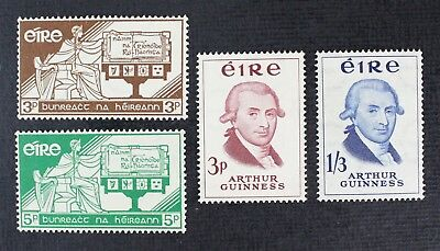 CKStamps: Ireland Stamps Collection Scott#169-172 Mint NH OG