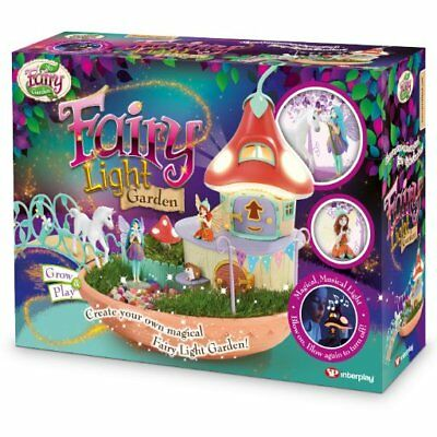 MY FAIRY LIGHT GARDEN Interplay Light Up PlaySet