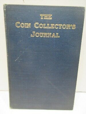 The Coin Collectors Journal Vol. 4  Scott Stamp and Coin Auction Catalog 1937-38