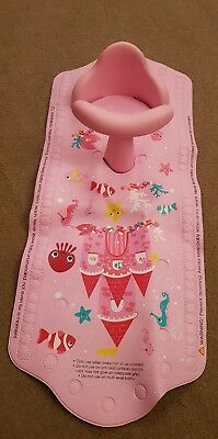 Mothercare Aqua Pod Pink Baby Bath Seat And Mat