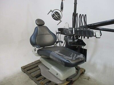 Forest 3900 Dental Patient Exam Chair w/ Delivery System & Light