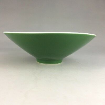 Chinese hand-made brightly colored yushanfang bowl (qing)
