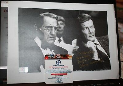 Autographed Photograph with COA Douglas Wilmer James Bond & Sherlock Holmes