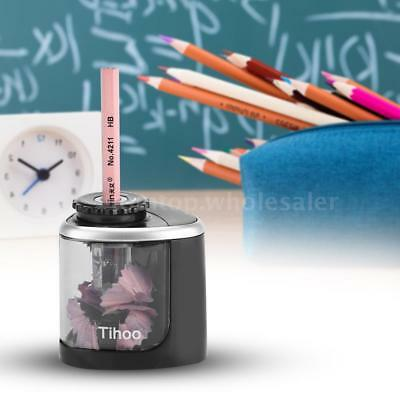Automatic Electric Pencil Sharpener Cutter Battery Operated School Office Home