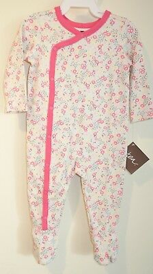 BNWT Tea Collection Rose Petal Lorna Wrap Romper Girl/'s Size 3-6 Month