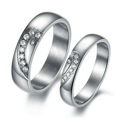 R123 Crystal Promise Ring Roman numerals Lover Wedding Anniversary can wholesale