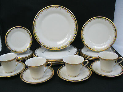 Lenox China Eclipse ~(4)~5 Piece Place Settings~1st Quality~ 20 Pieces