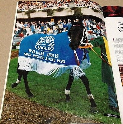 Rare Champion Octagonal 1995 Group 1 Ajc Sires Produce Stakes Winning Rug