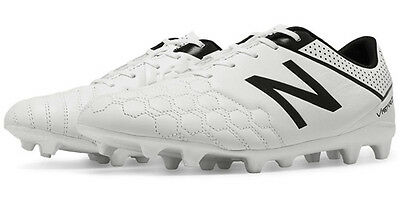 New Balance MSVCOFWH VISARO Mens SOCCER CLEATS shoes SZ 9.5 NEW WHITE COW HIDE