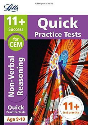 11+ Non-Verbal Reasoning Quick Practice Tests Age 9-10 for the CEM tests (Letts