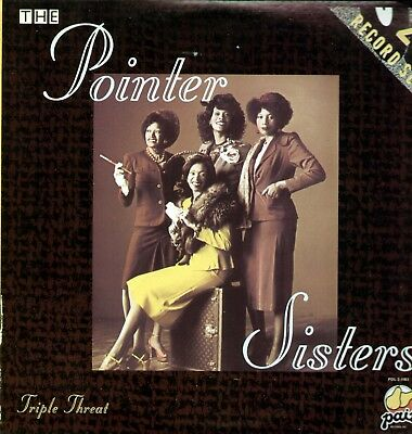 Pointer Sisters - Triple Threat / Doppel LP