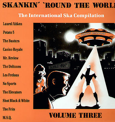 Various Skankin' 'Round The World - Intanational Ska Compilation Vol. 3 / LP