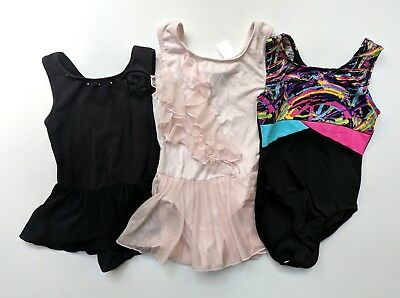 Freestyle by Danskin Girls 6 6x 7-8 Leotard Lot Dance Gymnastics TD1-267