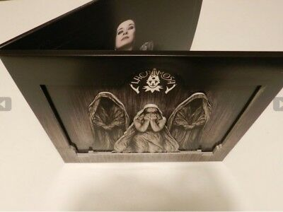 Lacrimosa Testimonium 2-LP vinyl NOTVD Night260 LP Gothic MINT bas-relief Cover