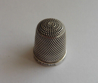 Solid Sterling Silver Thimble. H.G.& S, The Spa, 17,