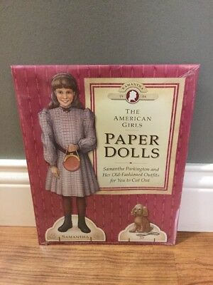The American Girls Paper Dolls Sealed New