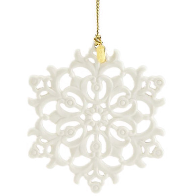 Lenox 2018 Snow Fantasies Snowflake Ornament