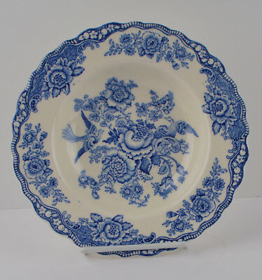 Crown Ducal BRISTOL BLUE Dinner Plate 9.5   sc 1 st  PicClick & SET OF (4) Vintage Crown Ducal Bristol Blue 8u201d Salad Plates (England ...