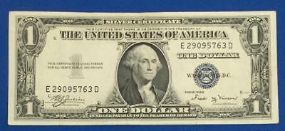 1935B $1 Blue Choice VF SILVER Certificate Low Issue! X763 Old US Paper Currency