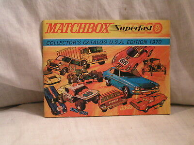 1970 Matchbox Superfast Catalog