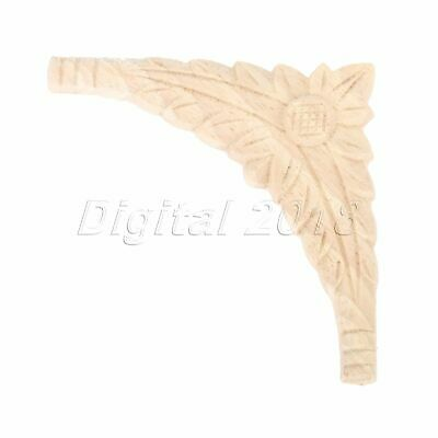 Woodcarving Carved Decor Furniture Bed Frame Decal Applique Decoration Exquisite