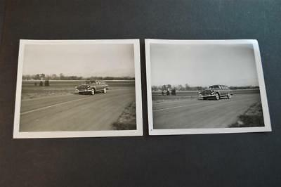 Vintage Photos 1955 Ford Woodie Wagon at Test Track 893055