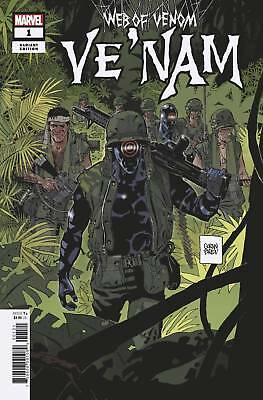 Web Of Venom Ve Nam #1 Parlov Var (Marvel 2018) - 8/29/18