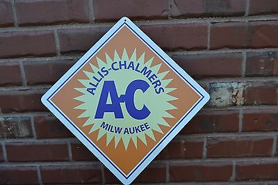Allis - Chalmers Sign Ac Farming Equipment Farm Equipment Metal Tractors