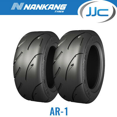 2 x Nankang 225/45/15 87W AR-1 Road Legal Semi Slick Road / Track Tyres 2254515