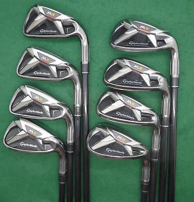 "Set TAYLORMADE 2016 M2 irons 5-SW  Reax ""M"" Senior flex FST050 SHIPPING INCLUDED"