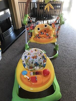 Mothercare Baby Jumperoo Bouncer And Redkite Baby Walker VVGC