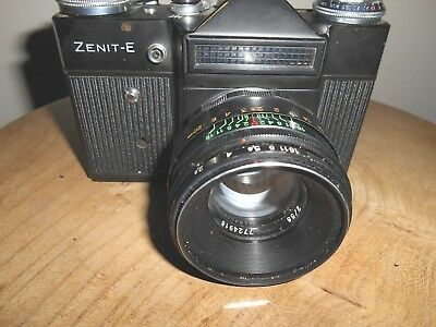 ZENIT E with HELIOS 44-2  1:2/58mm  Lens