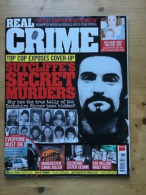 Real Crime Magazine - Issue 26 - Free P&p - Mint