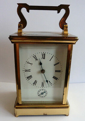 Antique French Carriage Clock, Two Train, Striking, Alarm, For Service / Repair