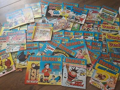 54x Beano comic library job lot inc. Some Dandy, VGC, 1980s collectable vintage