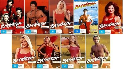 BAYWATCH TV Series Complete Seasons 1-9 DVD Bundle Set BRAND NEW Free Shipping