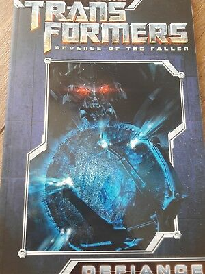Transformers IDW live action Movie-Verse ROTF prequel Defiance comic TPB