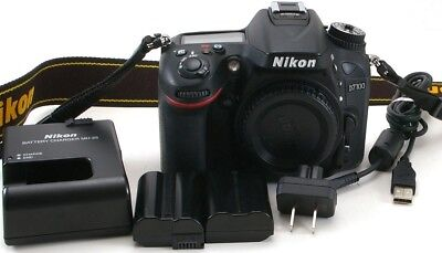 Nikon D D7100 24.1MP Digital SLR Camera Body ** Low Shutter Count 6,608 **