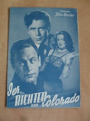 "IFK Wien Nr. 1038 ""Der Richter von Colorado"" Glenn Ford & William Holden"