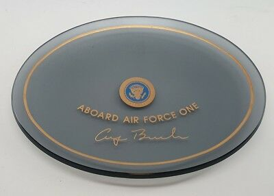 1980's President George Bush Scarce Air Force One Dish