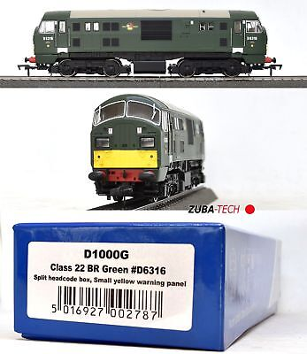 Dapol D1000G Diesellok Class 22 British Railways Spur 00 GS Digital OVP / G876