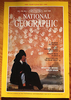 NATIONAL GEOGRAPHIC July 07 1988