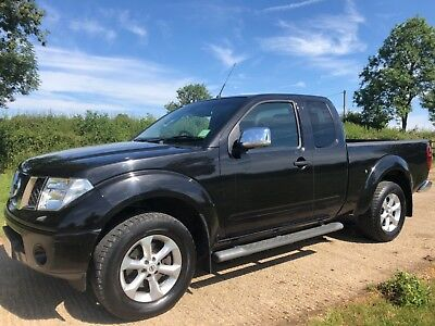 2008 NISSAN NAVARA 2.5 DCI DIESEL KING CAB 4 SEATER OUTLAW 4x4 D40 LONG BED