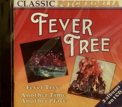 FEVER TREE 'Fever Tree' & 'Another Time Another Place' - 2LPs on 1CD - 20 Tracks