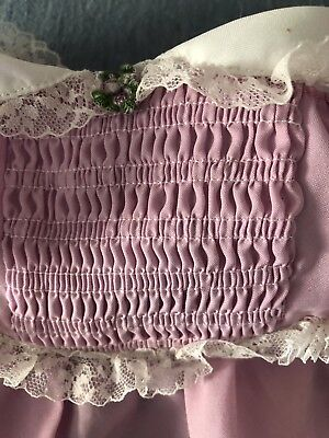 Vibtage Baby Dress Lace Girl Light Purple Cabbage Patch Kid Doll