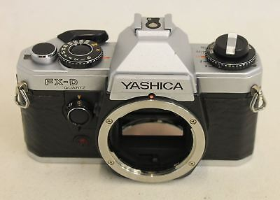 YASHICA Vintage FX-D Quartz SLR Camera Body 314365 Replacement For Photography